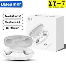 Ubeamer TWS 블루투스 이어폰 무선 헤드폰 наушники беспроводные 스포츠 게임 이어폰 헤드셋 마이크