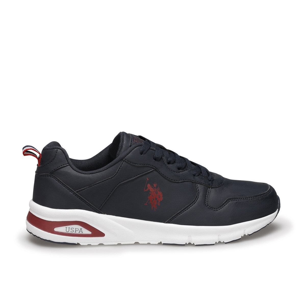 FLO VOYA Navy Blue Men 'S Sneaker Shoes U.S. POLO ASSN.