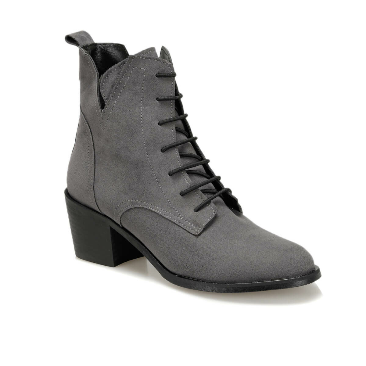 FLO OSGOODE77Z SKIN Gray Women 'S Heels Boots BUTIGO