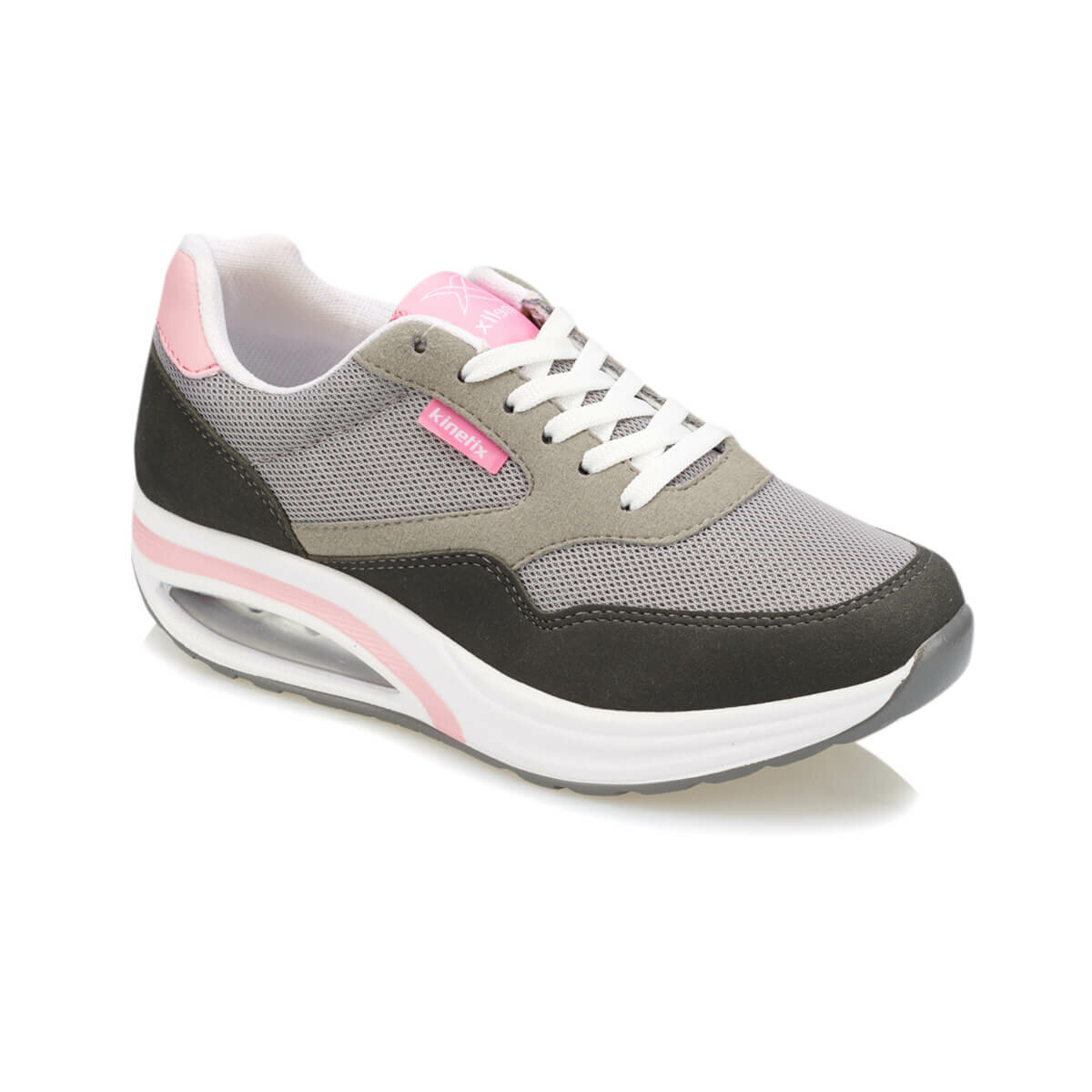 FLO ANETA Dark Gray Women 'S Sneaker Shoes KINETIX