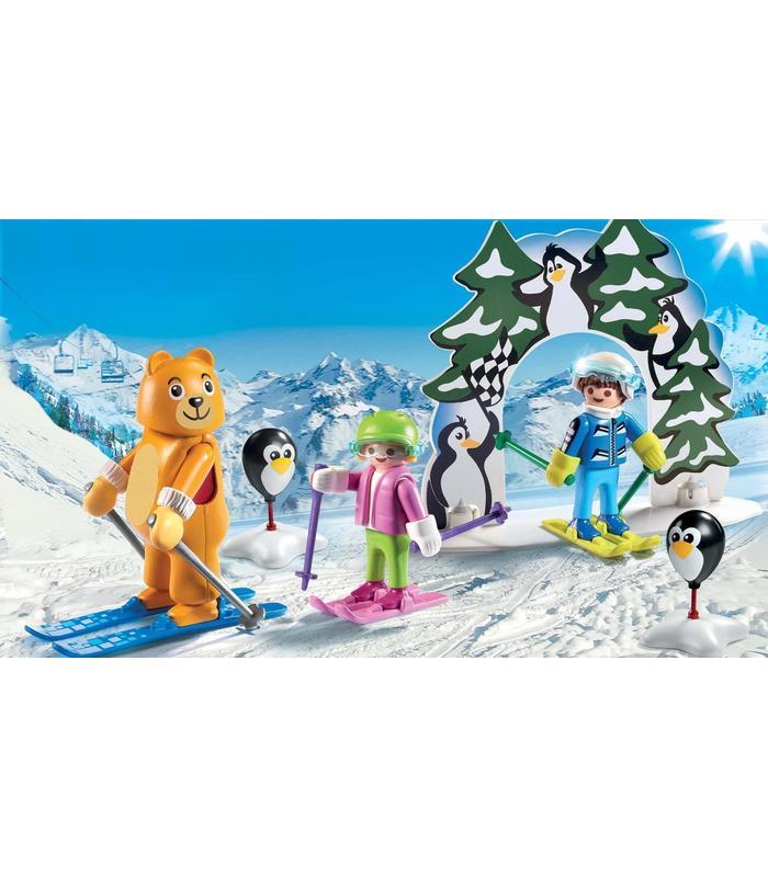 PLAYMOBIL 9282 School Ski? Toy Store