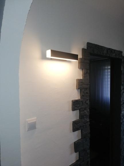 -- Alumínio Parede Escadas