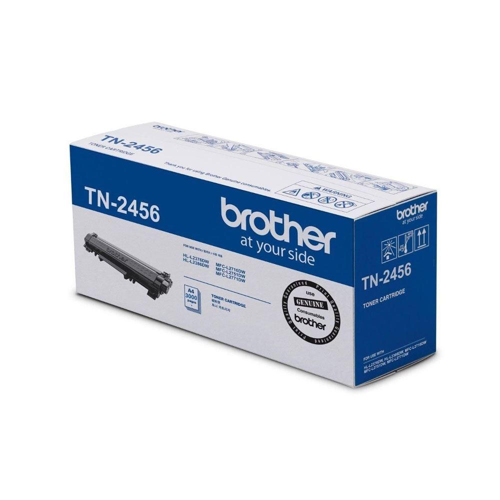Brother TN-2456 Toner HL-L2376-2386 MFC-L2716-2751D-2771 Original LaserJet Toner Cartridge