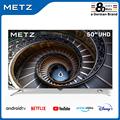 The television TV 50 inch intelligent METZ 50MUB7000 ANDROID TV 9,0 UHD FRAMELESS assistant Google made Remote CONTROL v