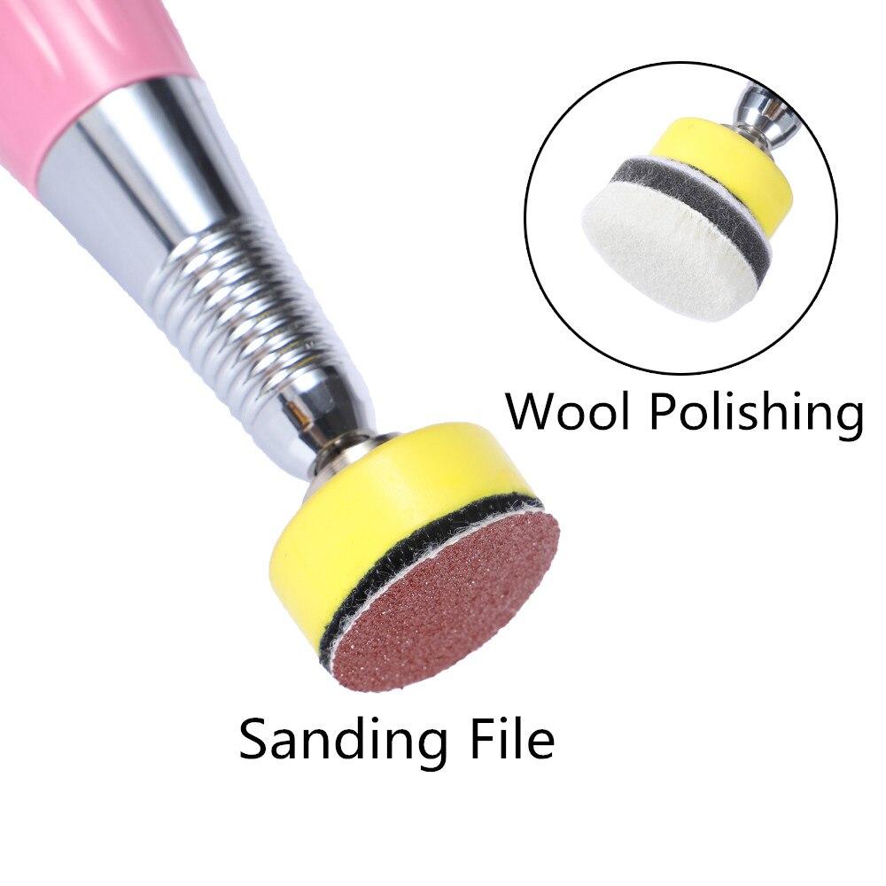 moagem pedicure ferramenta para arquivo pé elétrico