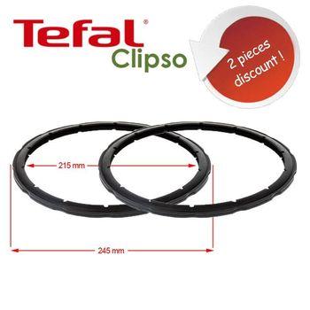 Uszczelka ciśnieniowa pary do szybkowar wymiana pierścienia uszczelniającego SEB Tefal Eden 2 sztuki 4-5-6 Liter tanie i dobre opinie TR (pochodzenie) Części do parowaru