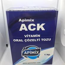ACK Vitamin 1 Kg 10*100gr Packs Multivitamin For Animals High Performance Dog Cat Chicken Birds Food Add Healt Farm Anti Stress