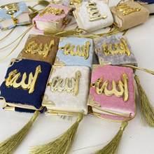 10 adet Mini Kuran ramazan Mubarak İslam ramazan iyilik Hajj hediye renkli kur'an-ı müslüman мини-коран подарок