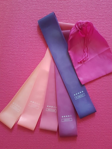 Elastic Rubber Resistance Yoga Latex Rally Bands