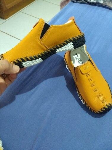 Sapatos de couro Sneakers Sneakers Sapatos