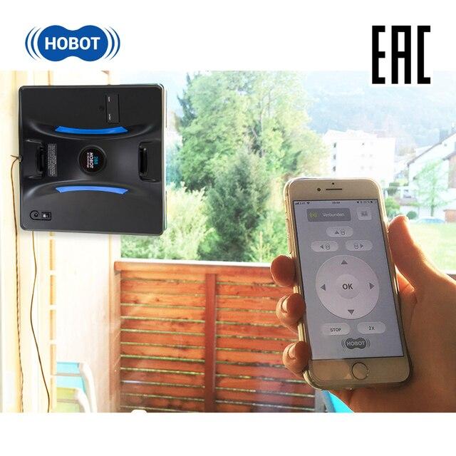 HOBOT 288 Робот мойщик окон для автоматической мойки окон внутри и снаружи с возможностью управления со смартфона