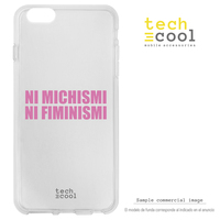 FunnyTech®Silicone Case for Iphone 11 Pro Max l feminism machismo humor transparent