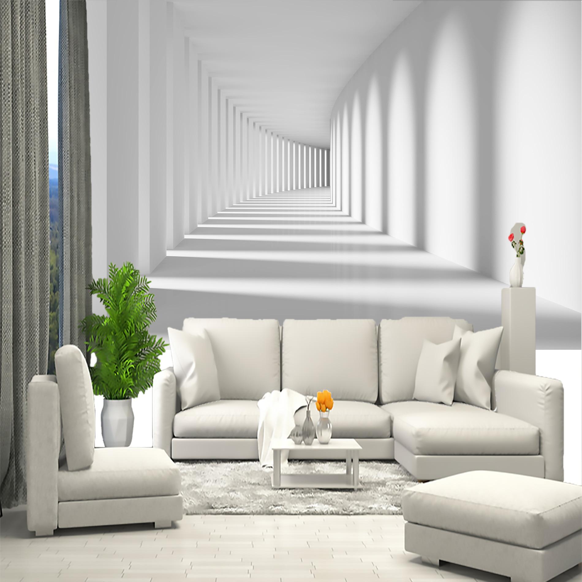 3D black and white custom mural wallpaper wholesale price Ksh 2000 per square meter