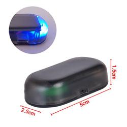 1 Pc Universal Car Fake Solar Power Alarm Lamp Security System Warning Theft Flash Blinking Anti-Theft Caution LED light Ornamen