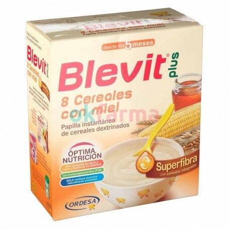 Blevit Plus Supersoft 8 Cereals Honey 600 GR