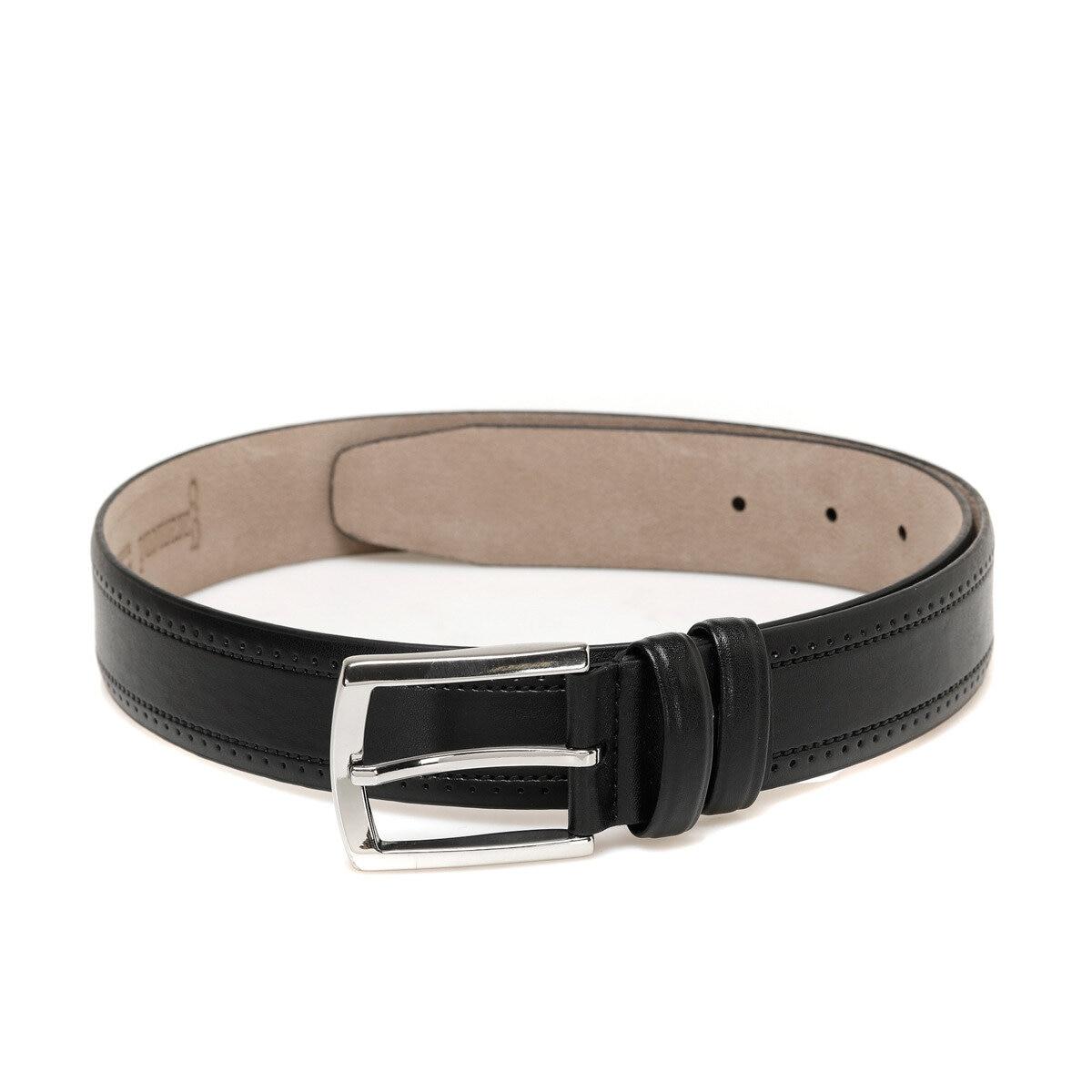 FLO 20M GK DLKLI Black Male Belt Garamond