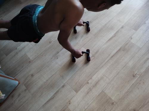 Workout Gym AB Power Wheels with Jump Rope Set photo review