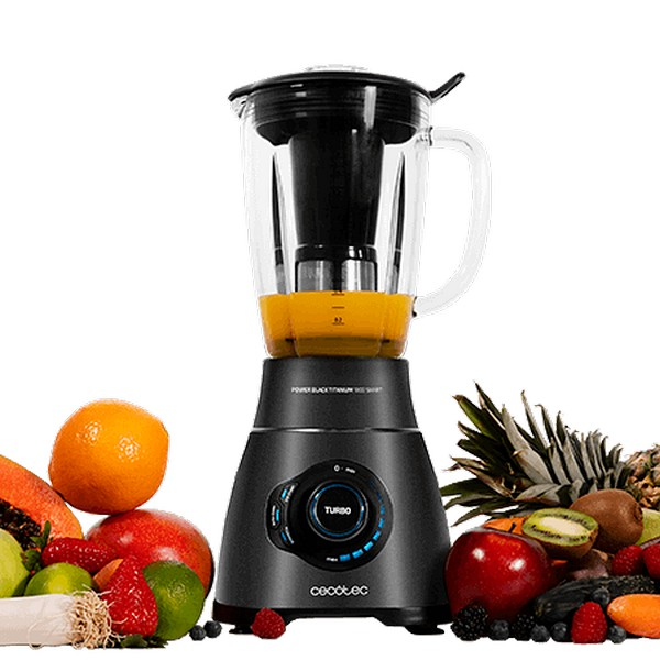 Cup Blender Cecotec Power Black Titanium 1800 Smart 2,1 L 1800W