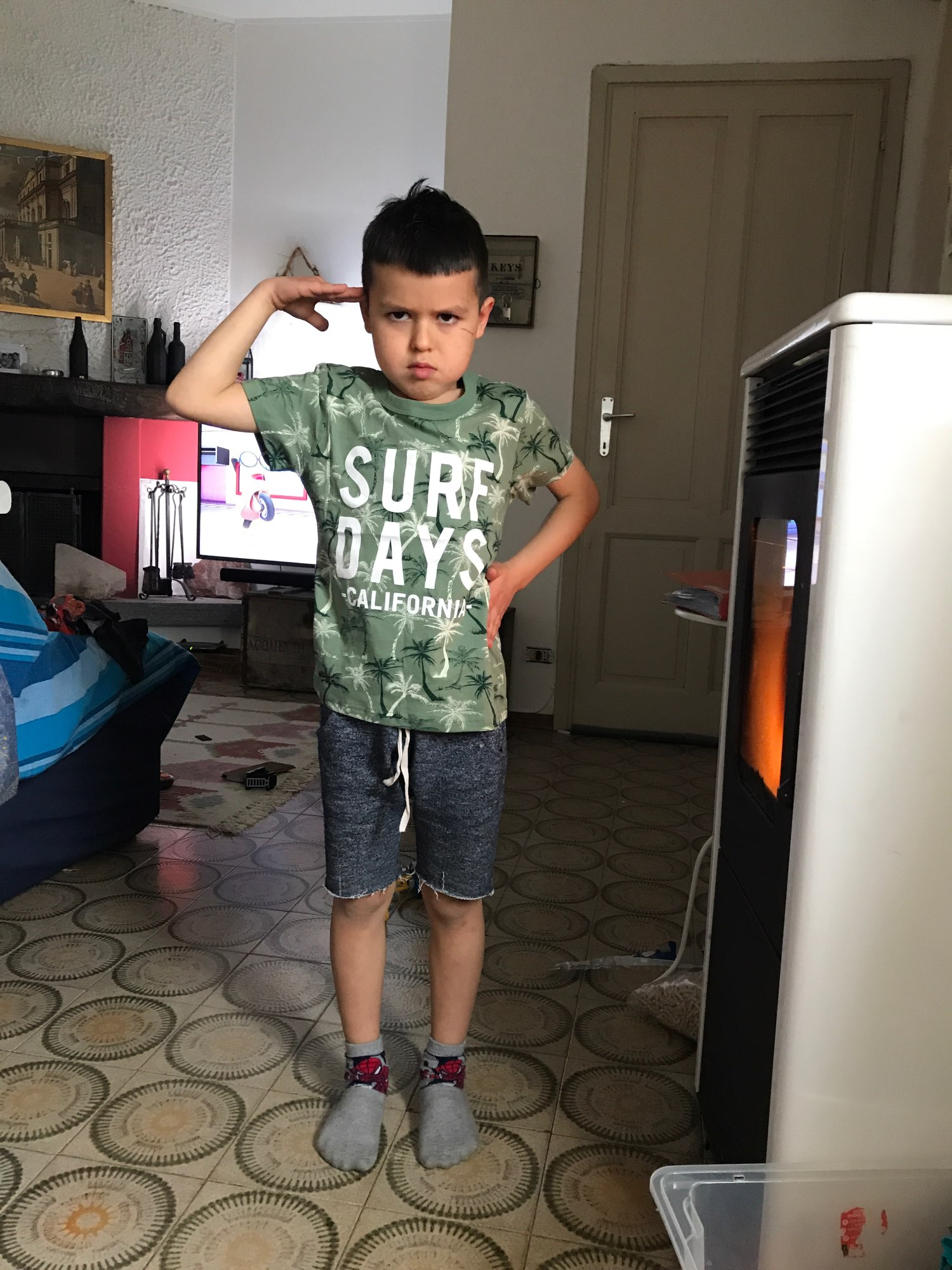 Yocute Childern T-shirt Summer 2021 New Kids Clothing Cotton Baby Boys Clothes Casual Style Cartoon Design Toddler Boy T-shirt photo review