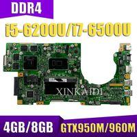 XinKaidi Für ASUS K501U K501UX K501UXM K501UQ K501UW K501UWK Loptop motherboard Mian board W/4 GB/8 GB i5/i7 CPU DDR4 Memory slot
