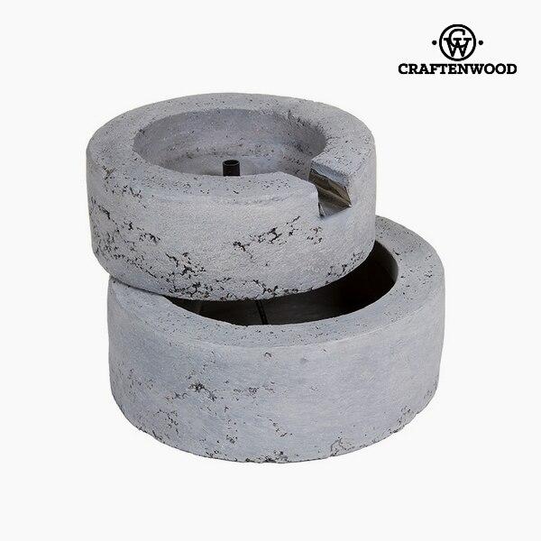 Garden Fountain (36 X 30,5 X 22 Cm) Resin Grey