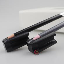 Ołówek do brwi narzędzia do ostrzenia permanentny makijaż materiały do tatuażu wodoodporna kredka do brwi wyostrzyć końcówkę cienkie narzędzia tanie tanio Guapa CN (pochodzenie) Tatuaż akcesoria LGTAXBZ Eyebrow Pencil Sharpening Tools For permanent makeup eyebrow Pencil 4 types slot Brand new design