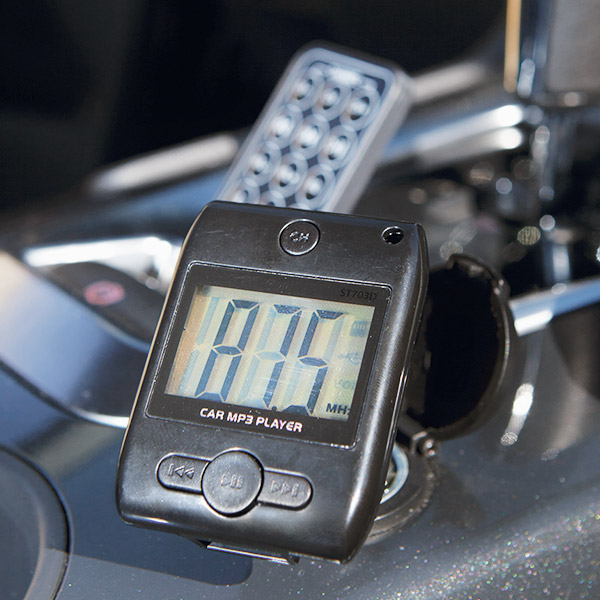 MP3 Player And FM Transmitter For Cars 144392