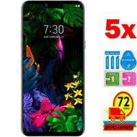 5x Protectors Screen Tempered Glass for for LG G8 (Not Full SEE INFO) KIT|Phone Screen Protectors| |  -