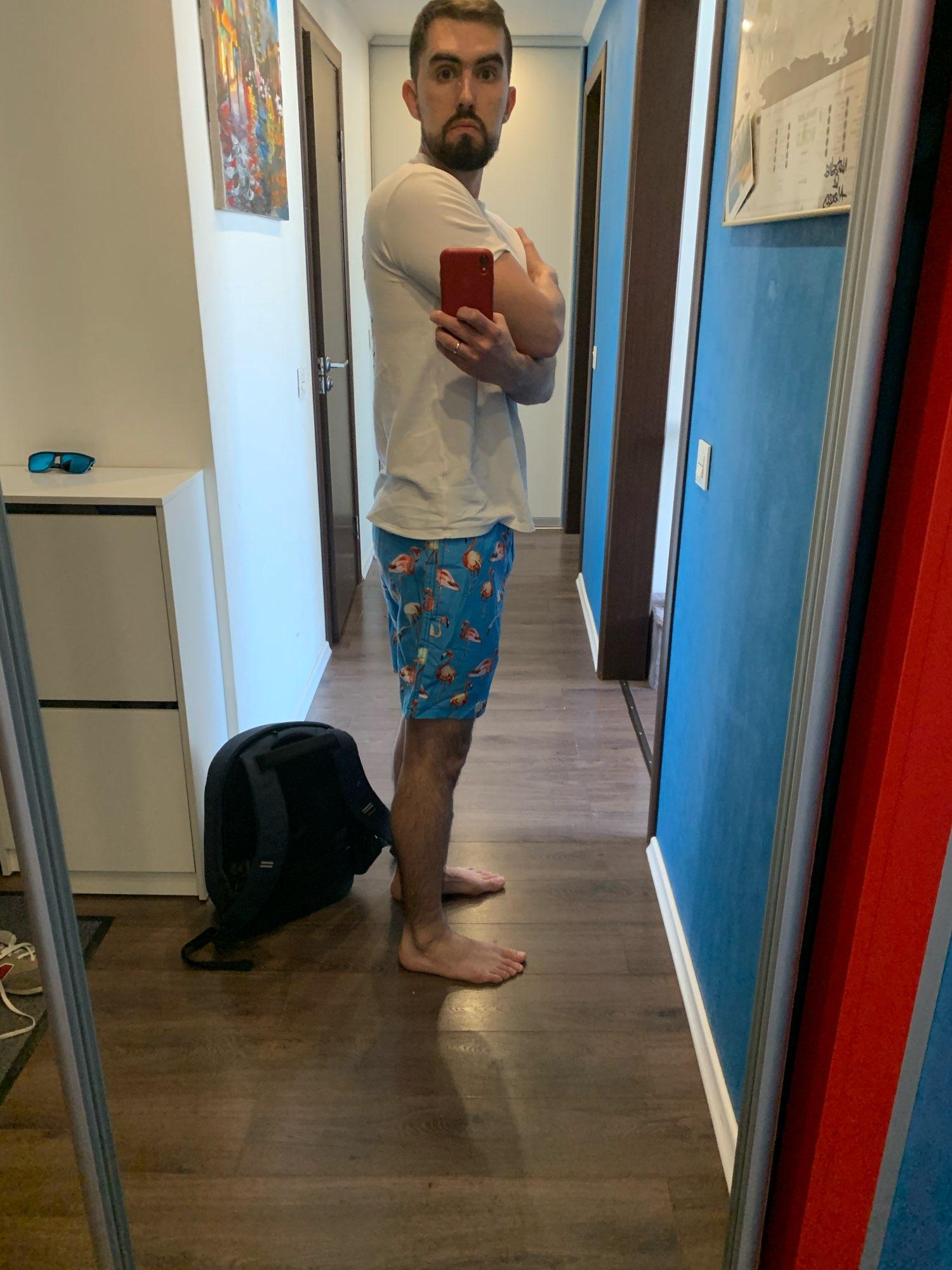 Quick-Dry Swim Shorts photo review
