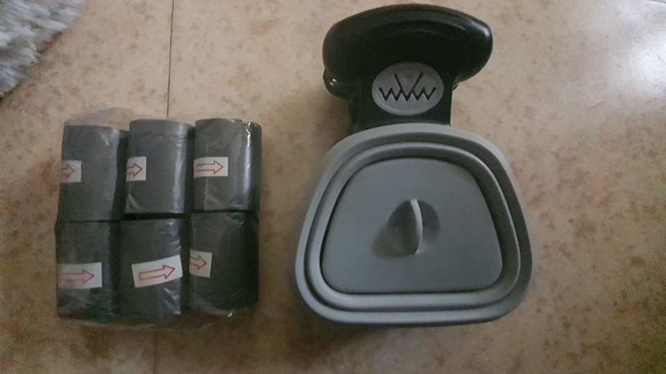 Dog Travel Foldable Pooper Scooper photo review