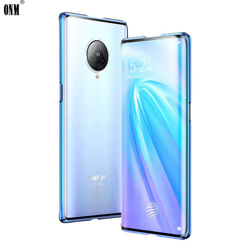 Image 2 - Case for VIVO NEX 3 360° Full Protection Magneto Magnetic Cases Cover for VIVO NEX 3 5G Adsorption Metal double Glass CaseFitted Cases   -