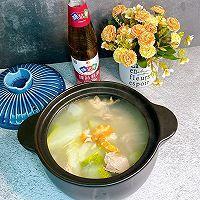鲜美的冬瓜干贝虾仁汤的做法图解1