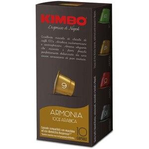 Kimbo coffee Capsules Compatible Nespresso-Harmony 100% Arabica (10x10 capsules)