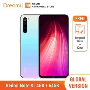 Image 2 - Глобальная версия Xiaomi Redmi Note 8 64GB ROM 4GB RAM (последнее поступление!), note8 64gb Мобильный смартфон, телефон, Смартфоны