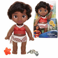 Doll Disney Princess Моана with черепашкой, 30 cm