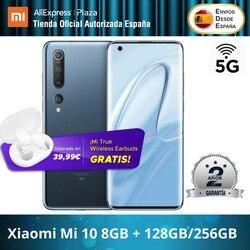 Xiaomi Mi 10 5G (128 Гб ROM 8 Гб RAM/ 256 ГБ ROM 8 Гб RAM, 4G/5G ,Snapdragon™865) [telefono Móvil Versión Global para España]