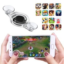 For Mobile Phone Rocker Tablet Android Iphone Round Game Joystick Button Controller Easy Chicken Dinner With Suction Cup