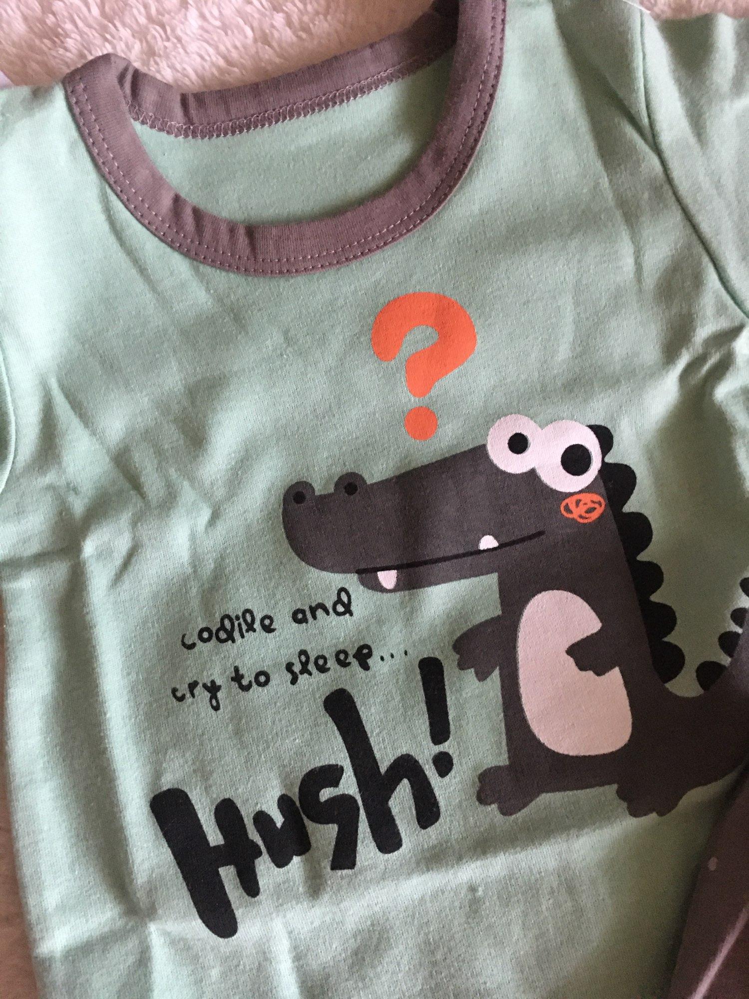 Pijama Sets Unisex 6M-5Y Children's Suits Boys Children Clothes Kids Baby pajamas Sets Sleepwear Kids Clothes Girls photo review
