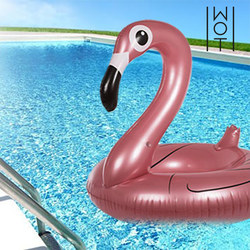 Wagon Trend Summer Ring Inflatable Flamingo