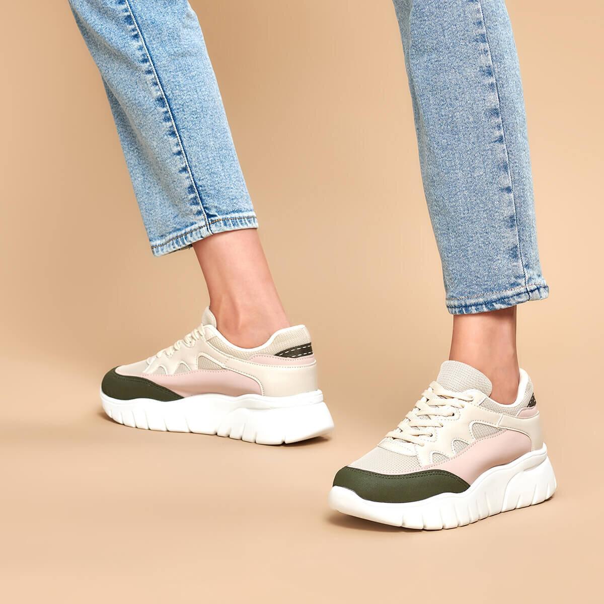 FLO 19K-251 Beige Women 'S Sneaker Shoes BUTIGO