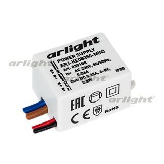 900108 Power Supply Arj-ke08350-mini (2.8W, 350ma) Arlight Box 1-piece