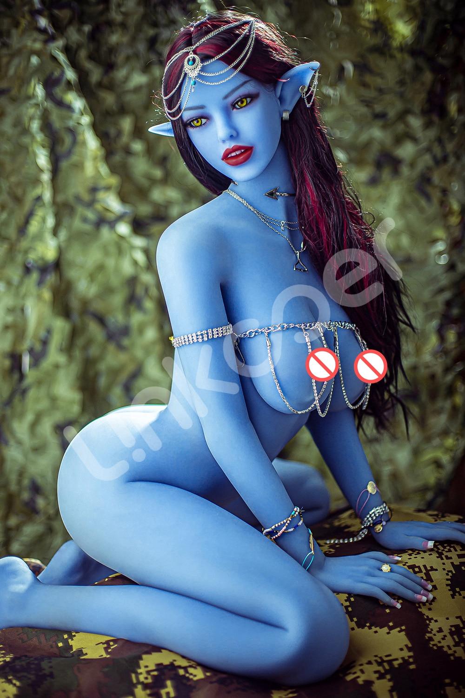 U3ff428a92fa54f27a2116f481792a87f4 Linkooer-Muñeca sexual de silicona para hombres adultos, juguete de belleza de elfo azul de 158cm, con ano realista, Vaginal y Oral