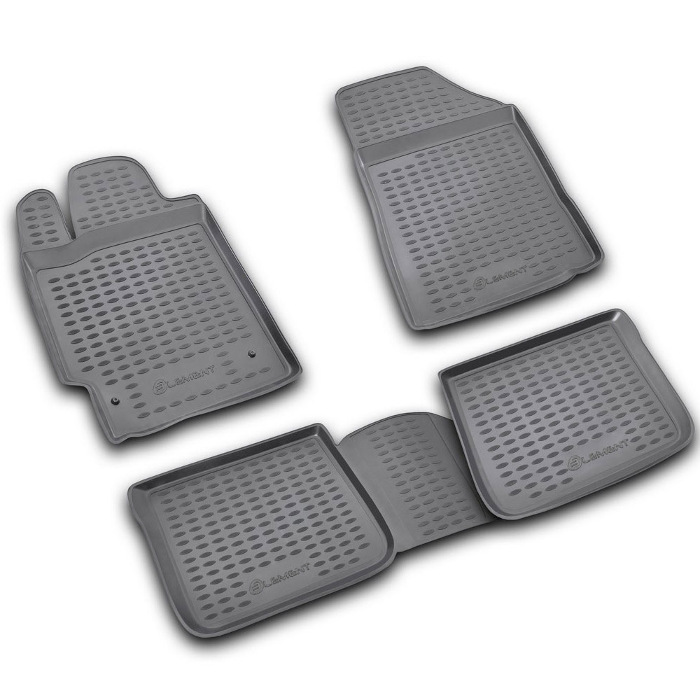 Floor Mats For TOYOTA Camry 07/2006-12/2011, 4 Pcs Free Shipping (gray) NLC.48.02.211k