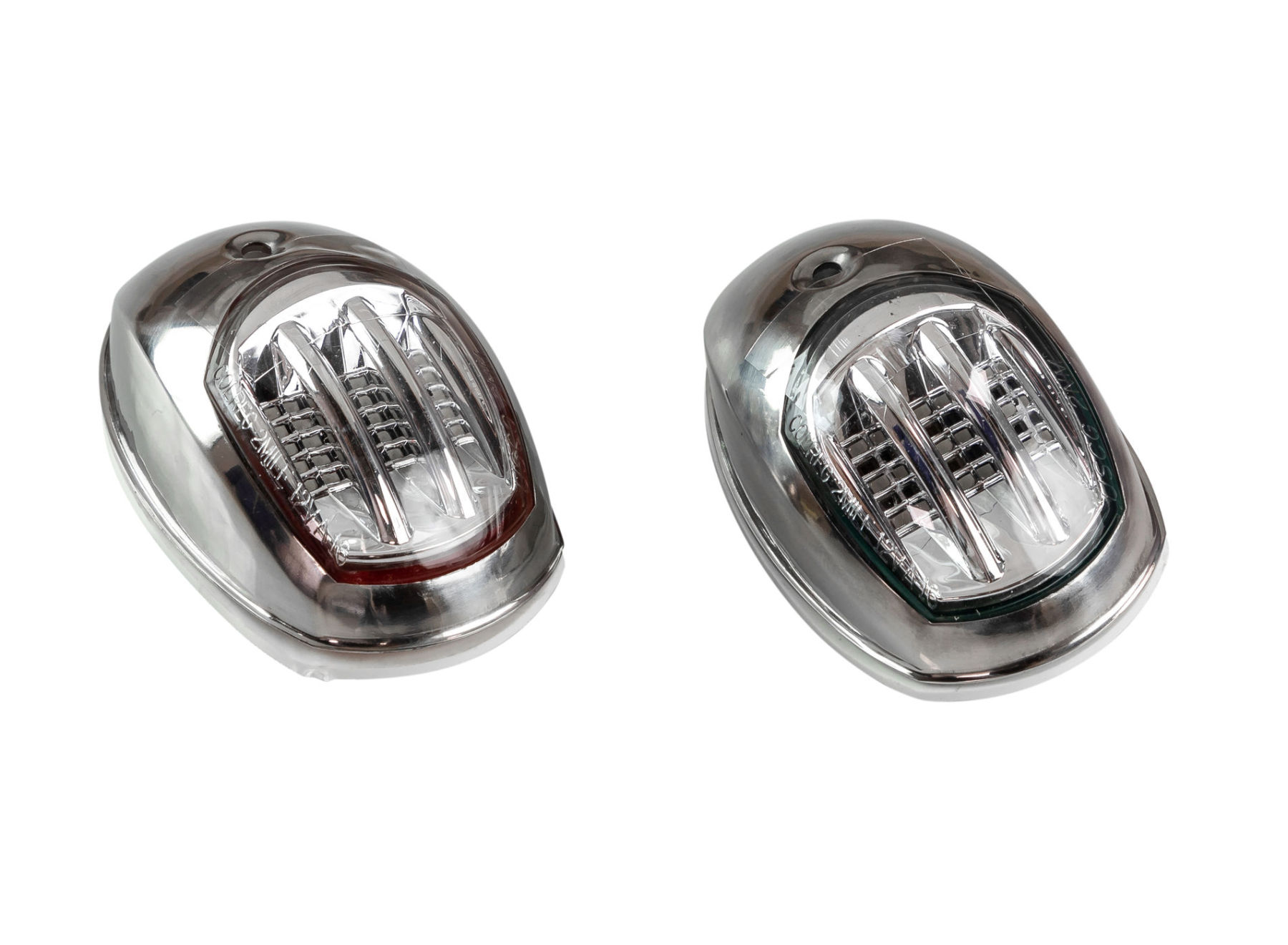 Running Lights Led 95x60mm Stainless Steel Case C91106S3