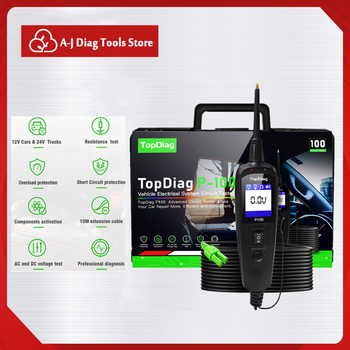 yd208 electrical system circuit tester electrical system diagnostics autek yd 208 power probe more powerful same with pt150 P100 Electrical System Diagnostics Tester Power Scanner Diagnostic Tool Automotive Voltage Circuit Tester For 12V Cars 24V Truck