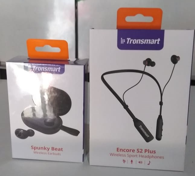 Tronsmart Encore S2 Plus Bluetooth 5.0 Earphones Qualcomm Chip Wireless Headset, Voice Control,Deep Bass, cVc 6.0 , 24H Playtime-in Phone Earphones & Headphones from Consumer Electronics on AliExpress