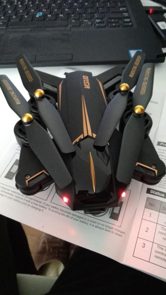 Drone Visuo XS812 Preto e Dourado GPS Com Câmera photo review