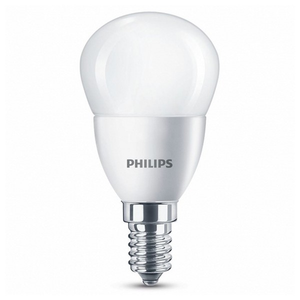 Spherical LED Light Bulb Philips 5 5W A+ 2700K 470 lm Warm light|  - title=