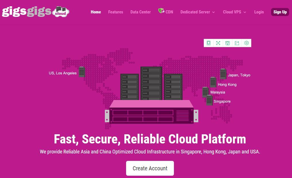 GigsGigsCloud:$5.8/月/512MB内存/15GB SSD空间/400GB流量/50Mbps-1Gbps端口/KVM/香港/直连-VPS SO