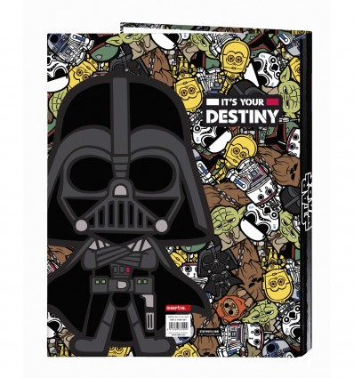 FOLIO WALLET 4 ANIMIXTAS STAR WARS GAL